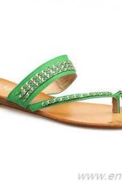 Dámské boty žabky 95AU374 - Ideal