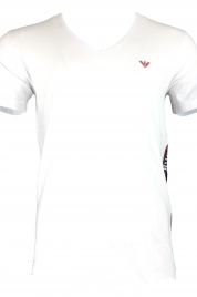 Pánské tričko 211801 9P462 bílá - Emporio Armani
