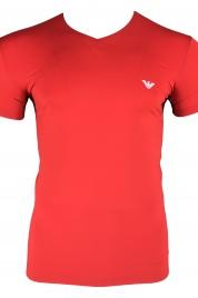 Pánské tričko 111845 9P531 00074 červená - Emporio Armani