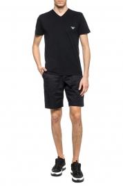 Pánské tričko 110853 9P710 černá - Emporio Armani
