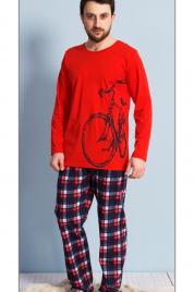 Pánské pyžamo dlouhé Velké kolo - Gazzaz