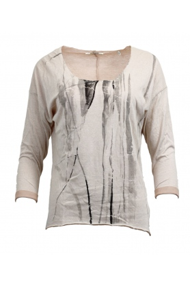 Dámske tričko s dlhým rukávom 24Q553 - Rich Royal