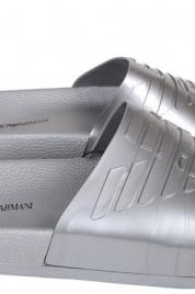 Pantofle X4PS02 stříbrná - Emporio Armani