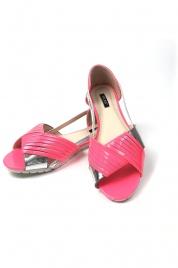 Lesklé dámské sandály - Gemini