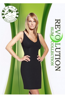 Zeštíhlující šaty F020 - Self