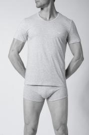 Pánské tričko 1pcs 111648 CC722 97120 šedá - Emporio Armani