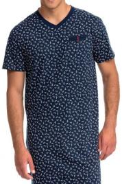 Elegantní pánská košile na spaní Vamp 14748