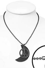 Pánský náhrdelník peace - Gemini
