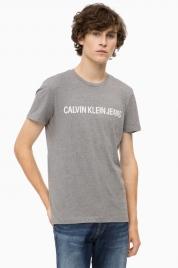 Pánské tričko OU36 šedá - Calvin Klein