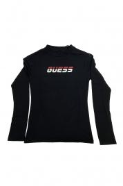 Dámské tričko s dlouhým rukávem O0BA0PK6YW1 - JBLK černá - Guess