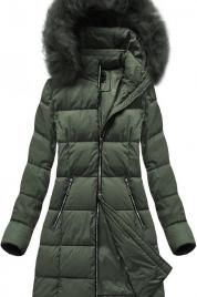 Dámská zimní bunda s kapucí 7702 BIG - LIBLAND