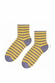 Dámské pruhované ponožky art.037 - Steven