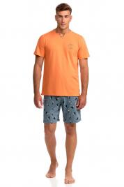 Pánské pyžamo s krátkým rukávem Tukan Vamp 14730