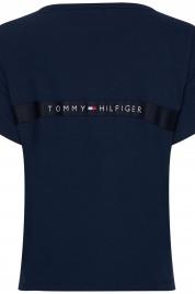 Dámské tričko UW0UW02152-CUN modrá - Tommy Hilfiger