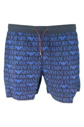 Pánské šortky 211740 9P430 tmavě modrá - Emporio Armani
