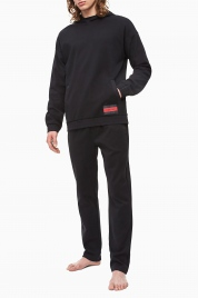 Pánská mikina NM1763E-001 černá - Calvin Klein