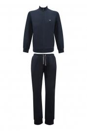 Pánské pyžamo 111795 CC570 00135 modrá - Emporio Armani