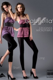 Dámské leginy Leggings Microfibre Long Code 139 - Gabriella
